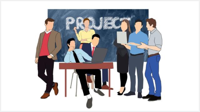 プロジェクトメンバーの集まり